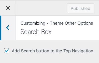 Add Search Button